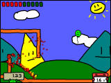 RunMan: Race Around the World Windows Use the zooming mode to bounce off walls.