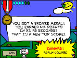 RunMan: Race Around the World Windows Level completed and a level has been earned as well.