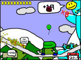 RunMan: Race Around the World Windows The second zone, The Sleepy Hills, is covered with ice.