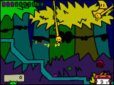 RunMan: Race Around the World Windows The third zone is a jungle with vines to swing.