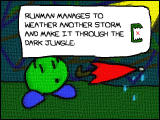 RunMan: Race Around the World Windows There are cutscenes between each zone.
