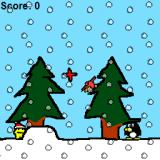 RunMan's Christmas Adventure Windows The first gameplay section