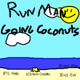 RunMan: Going Coconuts Windows Main menu