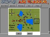 Air Warrior DOS Off-line playing theatre map