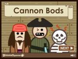 Cannon Bods Browser Title screen (updated color)