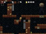 Spelunky Windows Pick up the idol and a large boulder will be released.