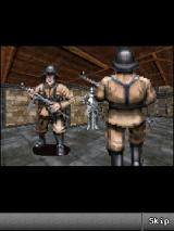Wolfenstein RPG J2ME Guards are patrolling inside.