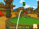 Crazy Golf World Tour Windows A review of a completely failed shot.