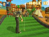 Crazy Golf World Tour Windows An axe obstacle. Whether it's possible to chop the ball in two hasn't been confirmed yet.