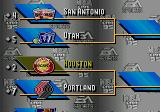 NBA Live 95 Genesis Playoff table
