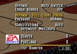 NBA Live 95 Genesis During the game, you can pause and choose strategy for your team