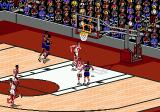 NBA Live 95 Genesis The ball is bouncing somewhere...