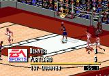 NBA Live 95 Genesis Wow, what a dunk!