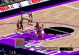 NBA Live 98 Genesis Struggle under the basket