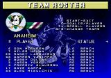 NHL 97 Genesis Team roster