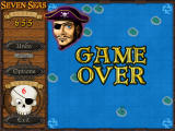 Seven Seas Deluxe Windows Game over