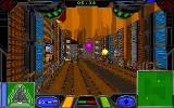 Zephyr DOS Level 1. The gameplay is similar to a multiplayer arena game. The match ends when the timer at the top runs out.