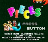 Pieces SNES Title screen
