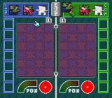 Pieces SNES The playfield