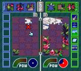 Pieces SNES The player has to solve the jigsaw puzzle faster than their opponent