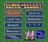 Pieces SNES Genre select