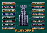 NHL 95 Genesis Playoff standings