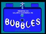 Williams Arcade Classics PlayStation Bubbles title screen