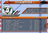 NHL 96 Genesis Team roster