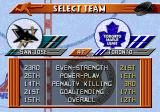NHL 96 Genesis Select team