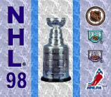 NHL 98 Genesis Title screen