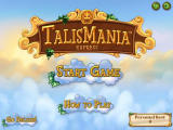 Talismania Deluxe Browser Main menu