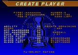 NHL 98 Genesis Create player
