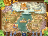 Talismania Deluxe Windows The world map