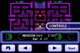 Pac-Man: Championship Edition iPhone Eat four apples to complete this mission