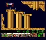 Lemmings Genesis Nice level with columns