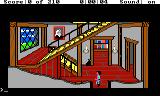 King's Quest III: To Heir is Human TRS-80 CoCo The game starts in this foyer