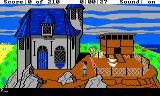King's Quest III: To Heir is Human TRS-80 CoCo Outside the house