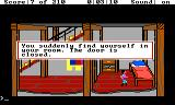 King's Quest III: To Heir is Human TRS-80 CoCo If you don't do what the wizard says, he locks you in your room