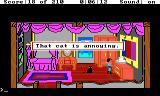 King's Quest III: To Heir is Human TRS-80 CoCo That cat is annoying!