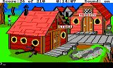 King's Quest III: To Heir is Human TRS-80 CoCo A seaside town