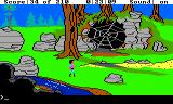 King's Quest III: To Heir is Human TRS-80 CoCo Giant spider web; does that mean a giant spider is nearby?