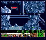 Lemmings Genesis Basher: can bash through walls or anything else