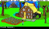 King's Quest III: To Heir is Human TRS-80 CoCo Whose house is this?