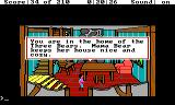 King's Quest III: To Heir is Human TRS-80 CoCo House of the three bears