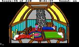 King's Quest III: To Heir is Human TRS-80 CoCo The three bears bedroom