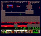 Lemmings Genesis Lava level