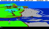 King's Quest III: To Heir is Human TRS-80 CoCo A river