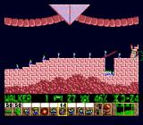 Lemmings Genesis ...the builder, who can build bridges to cross dangerous areas