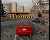 Project Gotham Racing 2 Xbox Other racers don't seem to care about scratching their expensive cars.