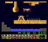 "Lemmings Genesis The first ""independent"" level, that you finally have to solve on your own"